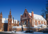 Die St. Anna Kirche in Vilnius ist äußerst beeindruckend.