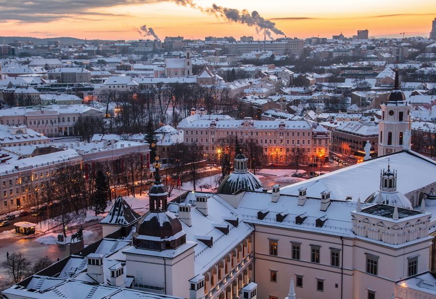 Vilnius wird auch das