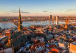 Ein eindrucksvoller Blick auf Riga