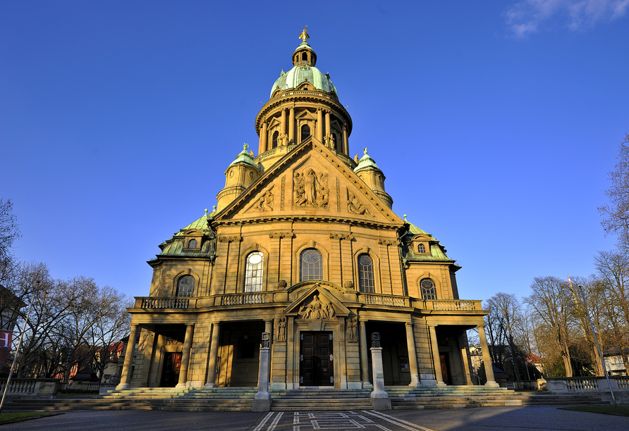 Die Christuskirche in Mannheim wird Sie beeindrucken.