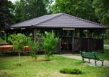 Hotel Wolin, Polnische Ostsee, Hotelgarten