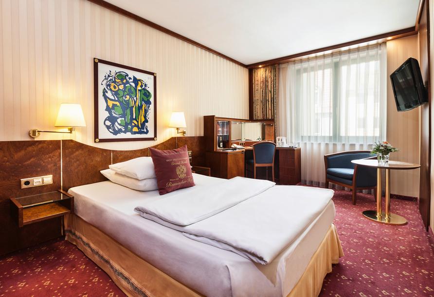 Best Western Premier Grand Hotel Russischer Hof, Beispiel Einzelzimmer Komfort