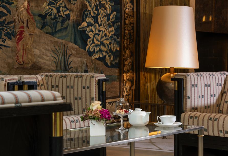 Best Western Premier Grand Hotel Russischer Hof, Atrium Ambiente