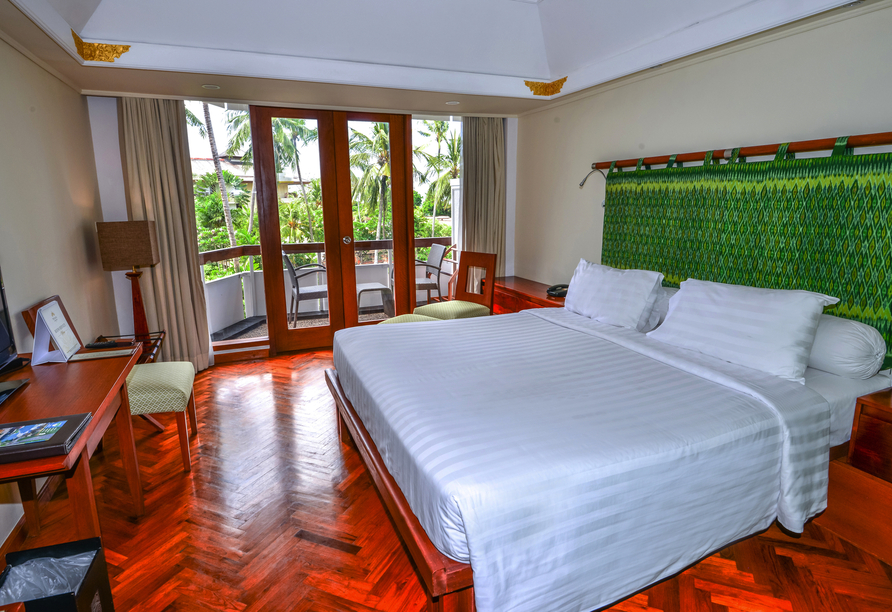 Beispiel eines Doppelzimmers Superior im Prama Sanur Beach Hotel Bali