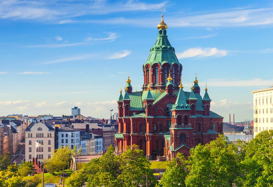 Die Uspensik Kathedrale in Helsinki