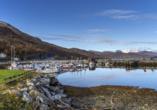 Storslett empfängt Sie in der Region Finnmark.