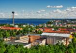 Tampere ist eine der letzten Stationen Ihrer beeindruckenden Skandinavien-Rundreise.