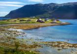 Die Region Finnmark begeistert mit ihrer Naturlandschaft.