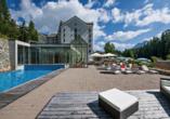 Arena Hotel Schweizerhof, Schweiz, Außenpool