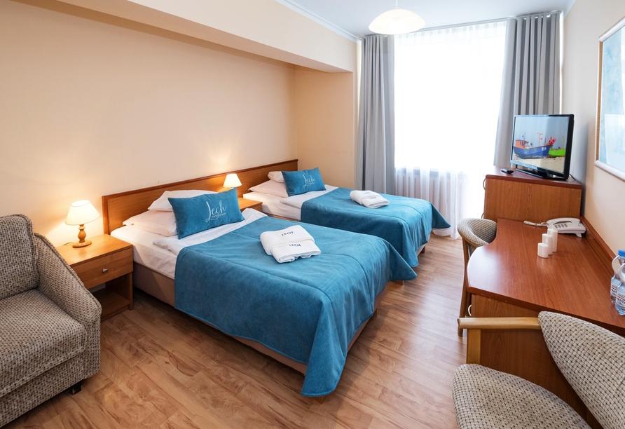 Beispiel eines Doppelzimmers im Hotel Lech