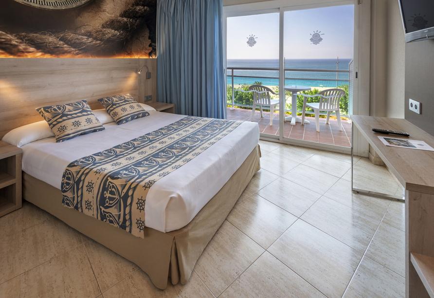 Beispiel eines Doppelzimmers mit Meerblick