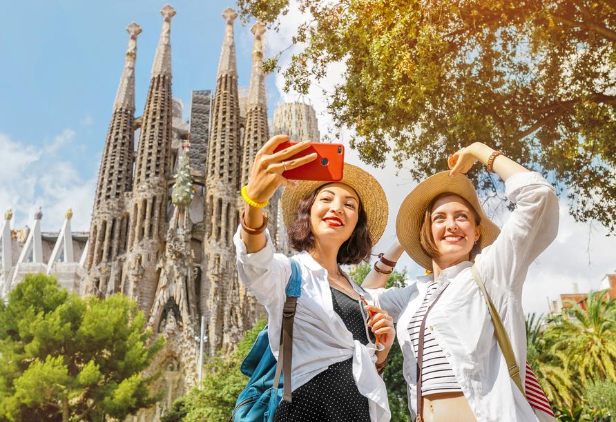 Die Sagrada Família - ein beeindruckendes Bauwerk