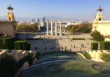 Der Hausberg Montjuïc bietet einen grandiosen Panoramablick auf die Stadt.