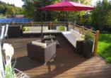 Terrasse vom Ferienhotel Riesberghof