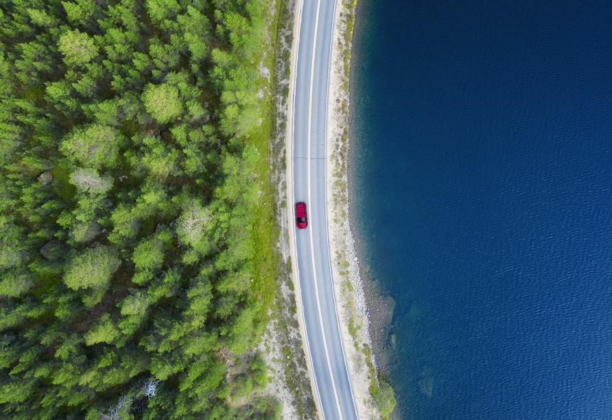 Rundreise Schweden, Wald und See