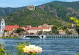 MS Amelia ab/an Passau, Außenansicht