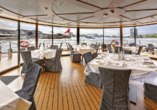 MS Amelia ab/an Passau, Restaurantpanorama