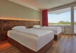 Ostsee Resort Dampland, Beispiel Twinbettzimmer