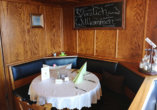 Das gemütliche Restaurant des Hotels DreiKönig