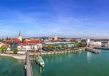 Ein Ausflug nach Friedrichshafen lohnt sich.