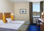 IntercityHotel Stralsund, Beispiel Doppelzimmer Standard getrennte Betten