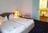 Beispiel eines Doppelzimmers im City Club Hotel Oldenburg