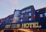 Außenansicht des City Club Hotels Oldenburg