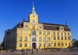 Das Oldenburger Schloss beherbergt als Wahrzeichen der Stadt das Landesmuseum für Kunst- und Kulturgeschichte.