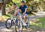 Unternehmen Sie ausgiebige Fahrradtouren in und um Oldenburg.