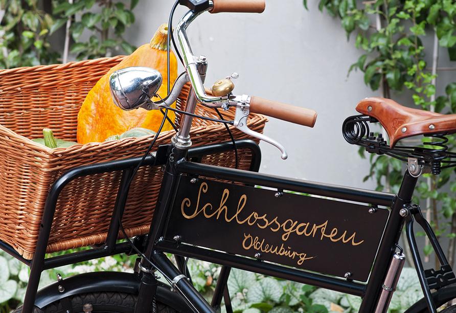 Spazieren Sie durch den Schlossgarten, der zu den bedeutendsten historischen Parkanlagen Deutschlands zählt.
