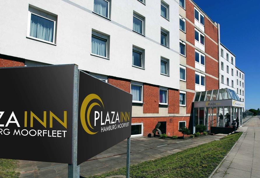 PLAZA Inn Hamburg Moorfleet, Außenansicht Hotel