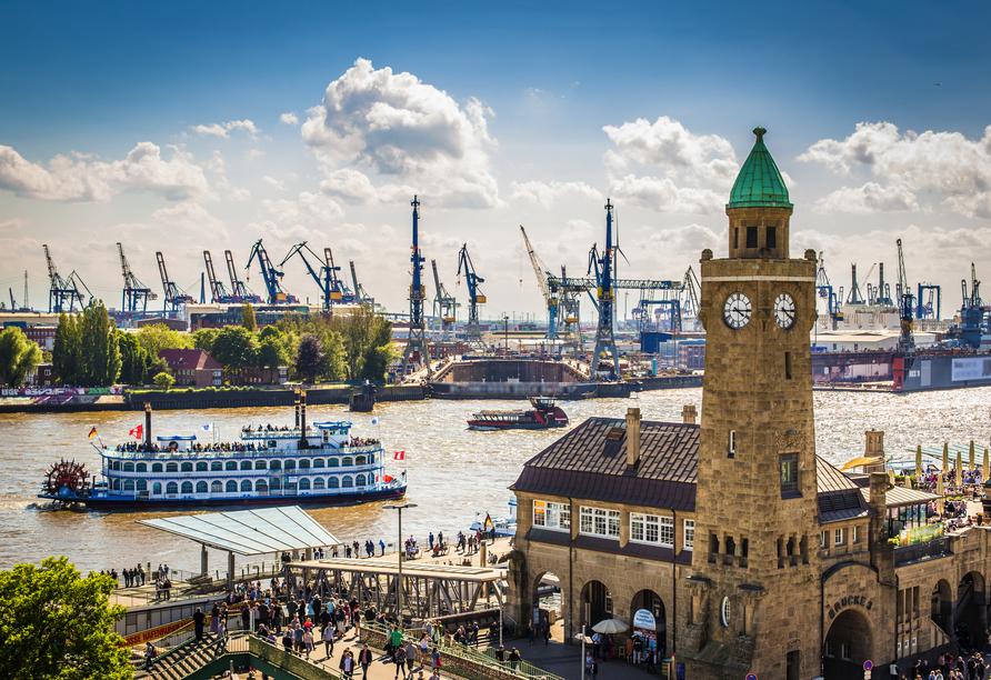 Hotel PLAZA Inn Hamburg Moorfleet, Hafen Hamburg