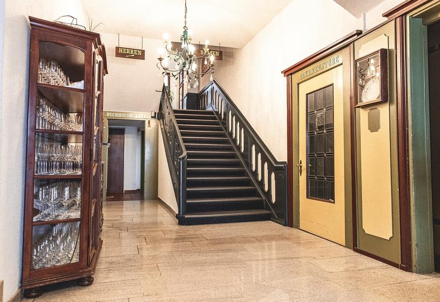 Freuen Sie sich auf einen schönen Aufenthalt im stilvoll eingerichteten PLAZA Hotel Buchhorner Hof.