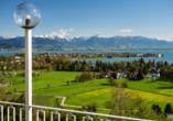 Lindau am Bodensee lädt mit einer grandiosen Lage zu einem Ausflug ein.