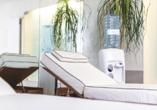 Wellness und Erholung kommt im PLAZA Hotel Buchhorner Hof nicht zu kurz.