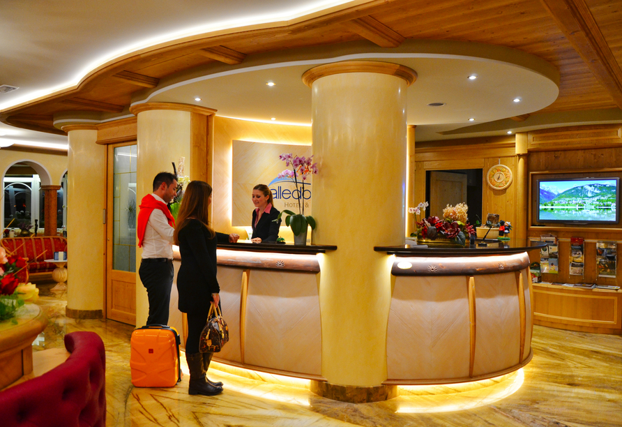 Alle Dolomiti Boutique Lake Hotel, Lobby