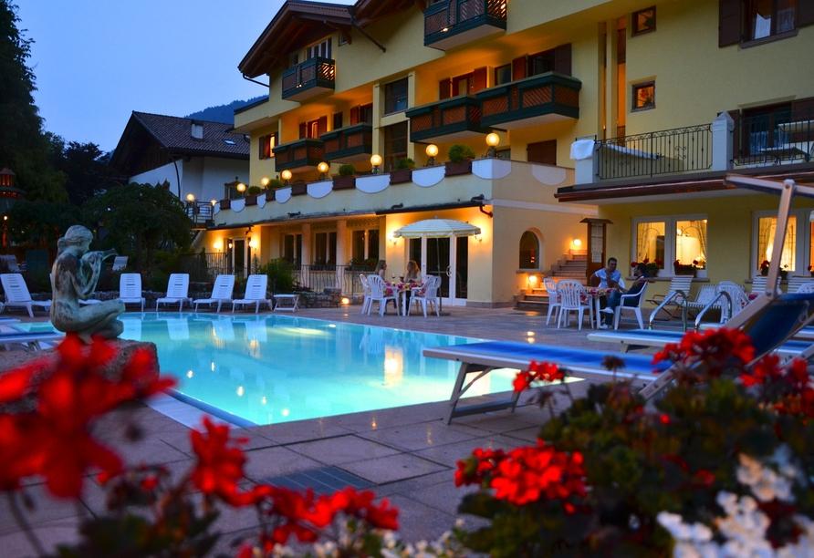 Alle Dolomiti Boutique Lake Hotel, Außenpool