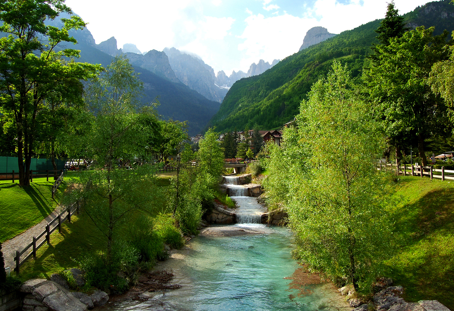 Alle Dolomiti Boutique Lake Hotel, Natur an Dolomiten