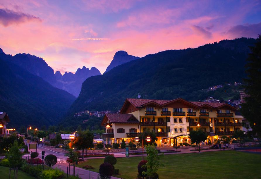 Alle Dolomiti Boutique Lake Hotel, Außenansicht Hotel
