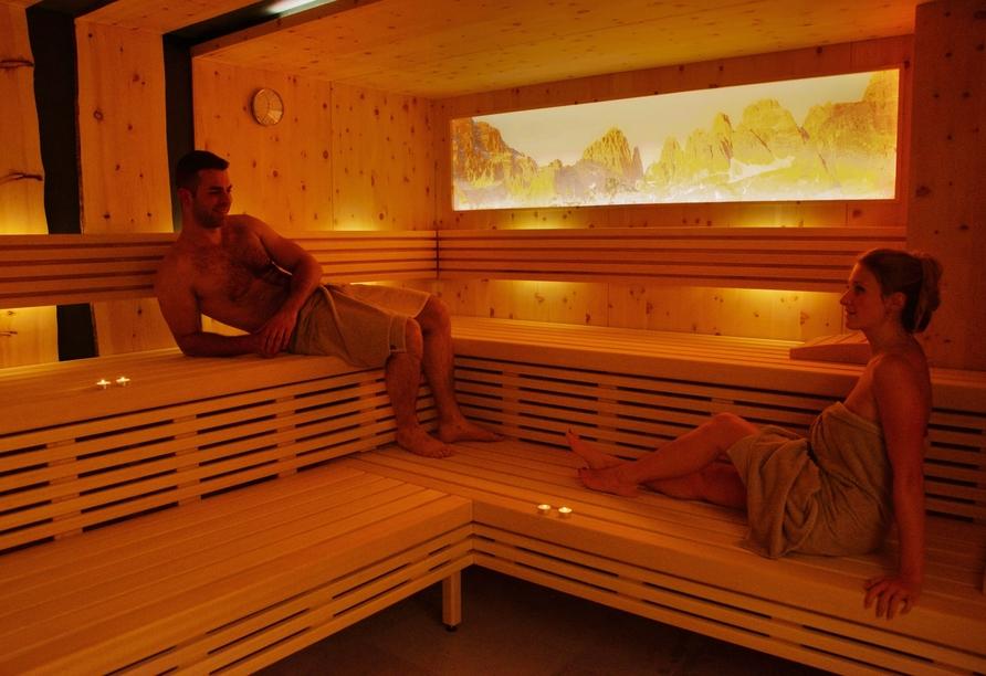 Alle Dolomiti Boutique Lake Hotel, Sauna