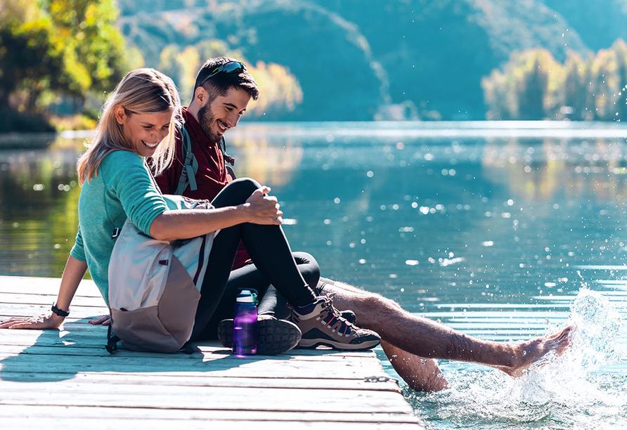 Der Zeller See ist einer der reinsten Badeseen Europas.