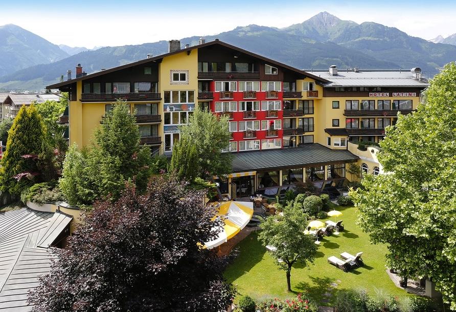 Hotel Latini, Zell am See, Österreich, Außenansicht