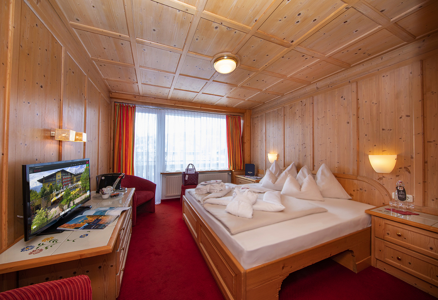 Hotel Latini, Zell am See, Österreich, Doppelzimmer Alpenrose