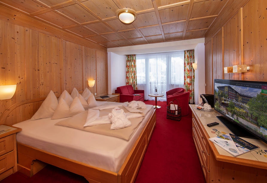 Hotel Latini, Zell am See, Österreich, Doppelzimmer Enzian