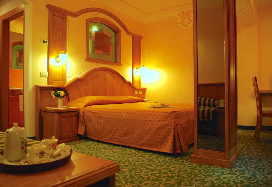 Alle Dolomiti Boutique Lake Hotel, Beispiel Komfortzimmer