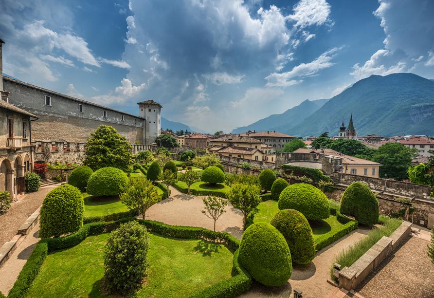Alle Dolomiti Boutique Lake Hotel, Castello del Buonconsiglio