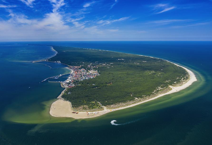 8-tägige Autorundreise Höhepunkte Masuren & Pommern 2021, Halbinsel Hela