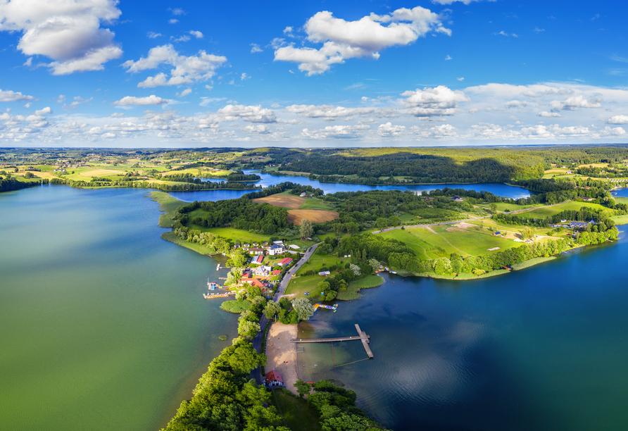 8-tägige Autorundreise Höhepunkte Masuren & Pommern 2021, Kaschubische Schweiz