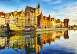 8-tägige Autorundreise Höhepunkte Masuren & Pommern 2021, Hafen Danzig