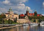 8-tägige Autorundreise Höhepunkte Masuren & Pommern 2021, Stetttiner Hafen